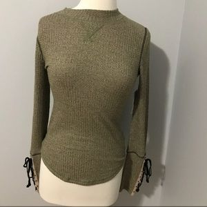 Free People Olive Long Sleeve